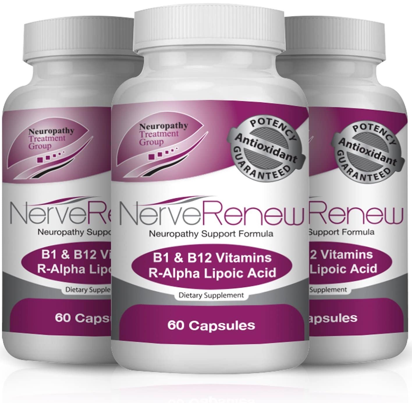 3 bottles of Nerve Renew package