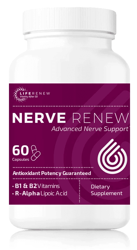 1 bottle of Nerve Renew Advanced Nerve Support by Life Renew